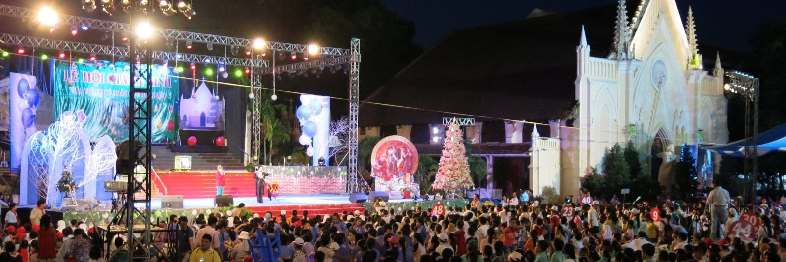 Ho Chi Minh City Archdiocese Children Christmas celebration in December