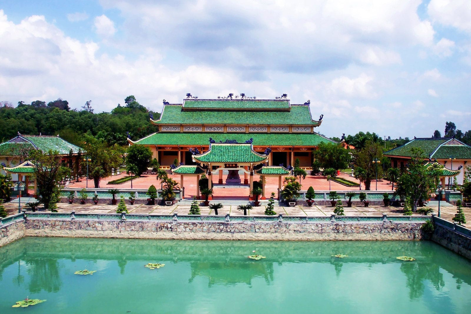 Bien Hoa Vietnam Tran Bien Temple of Literature