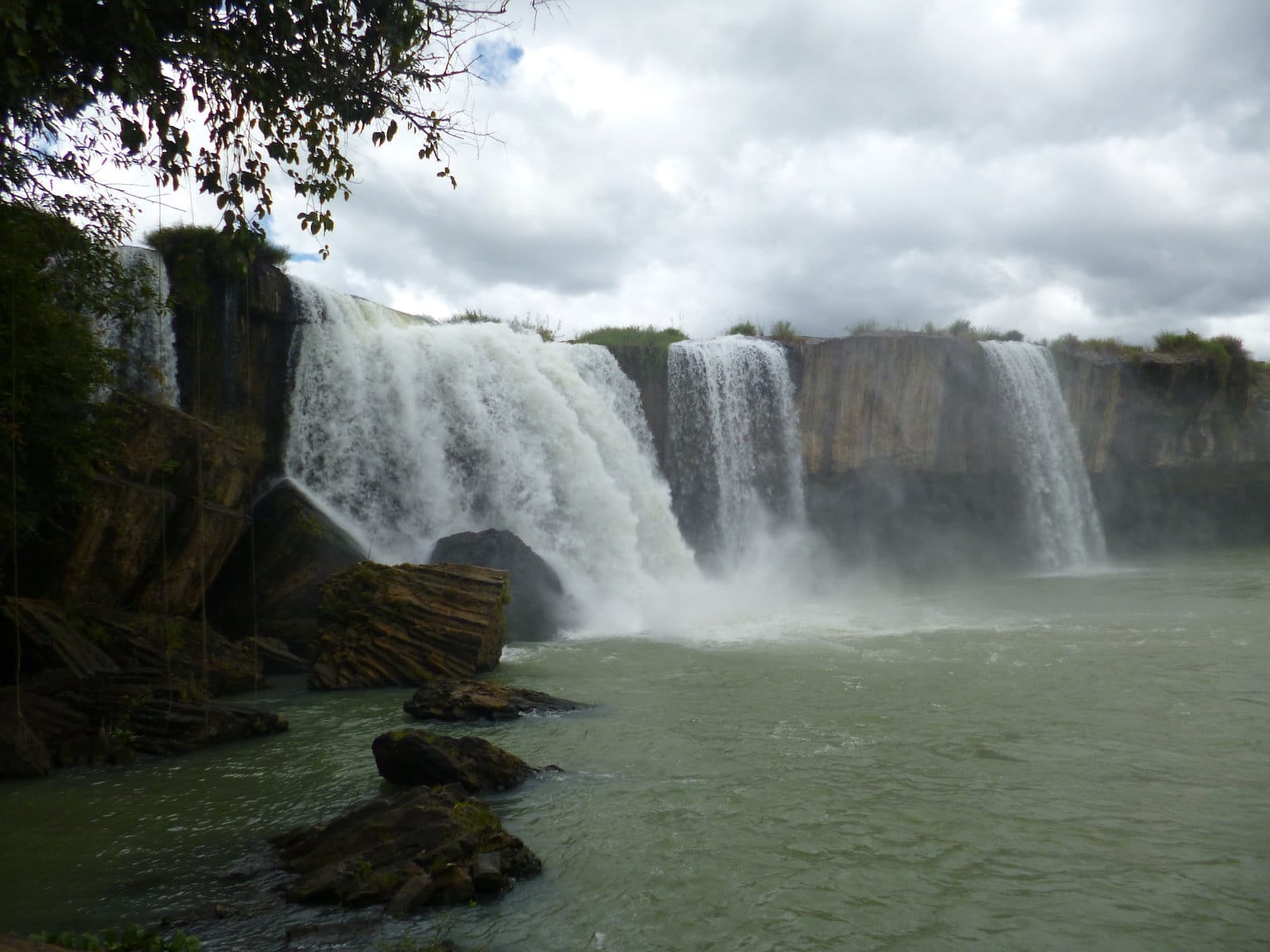 Image of the Dray Nur Waterfalls in Buon Ma Thuot, Vietnam