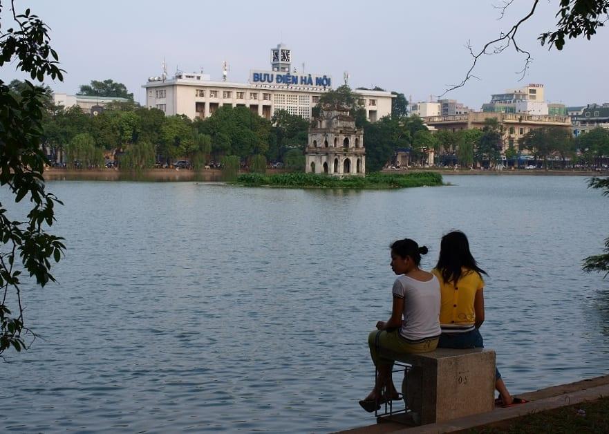 Hoàn Kiếm Lake Hanoi Vietnam