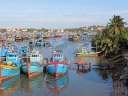 La Gi Vietnam Fishing Boats