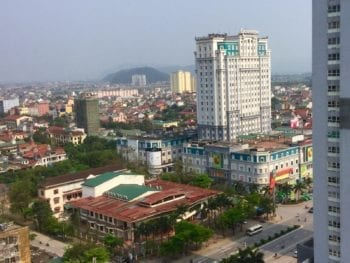 Vinh Vietnam City Skyline