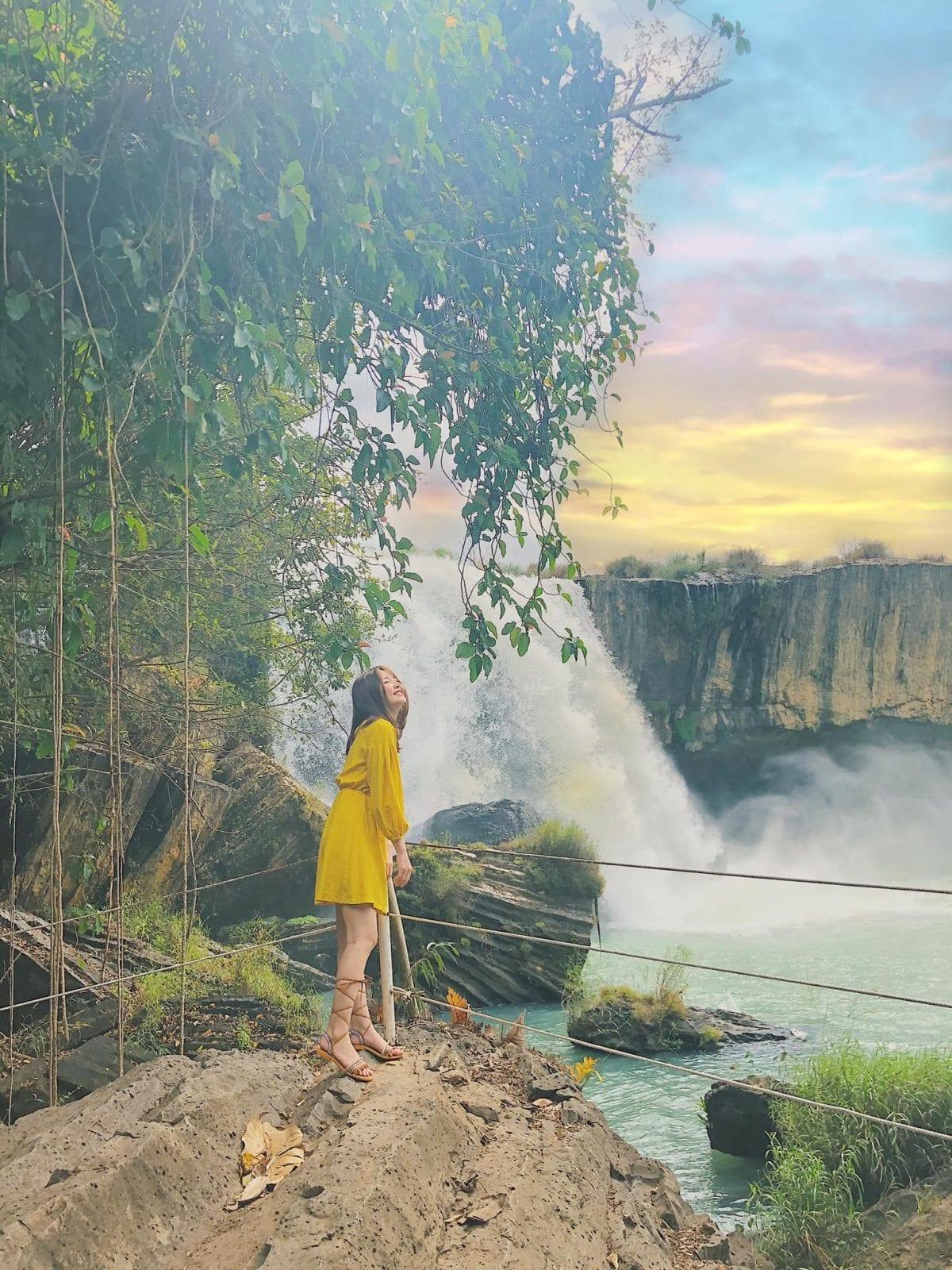 Dray Nur Waterfall