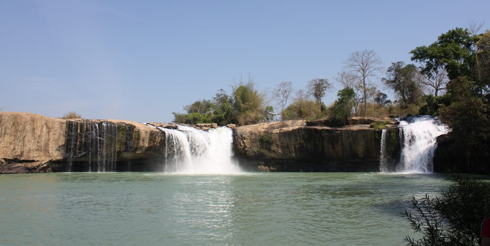 Gia Long Waterfall, Dak Lak