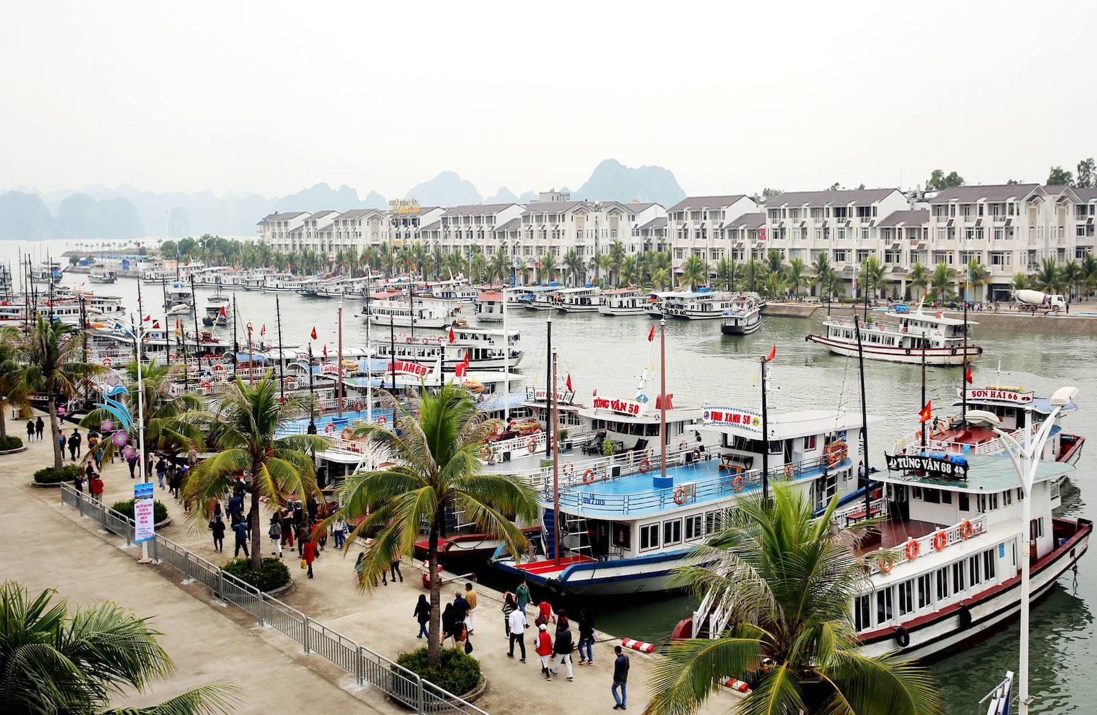Tuan Chau Tourist Wharf- Sung Sot Cave- Ha Long Bay