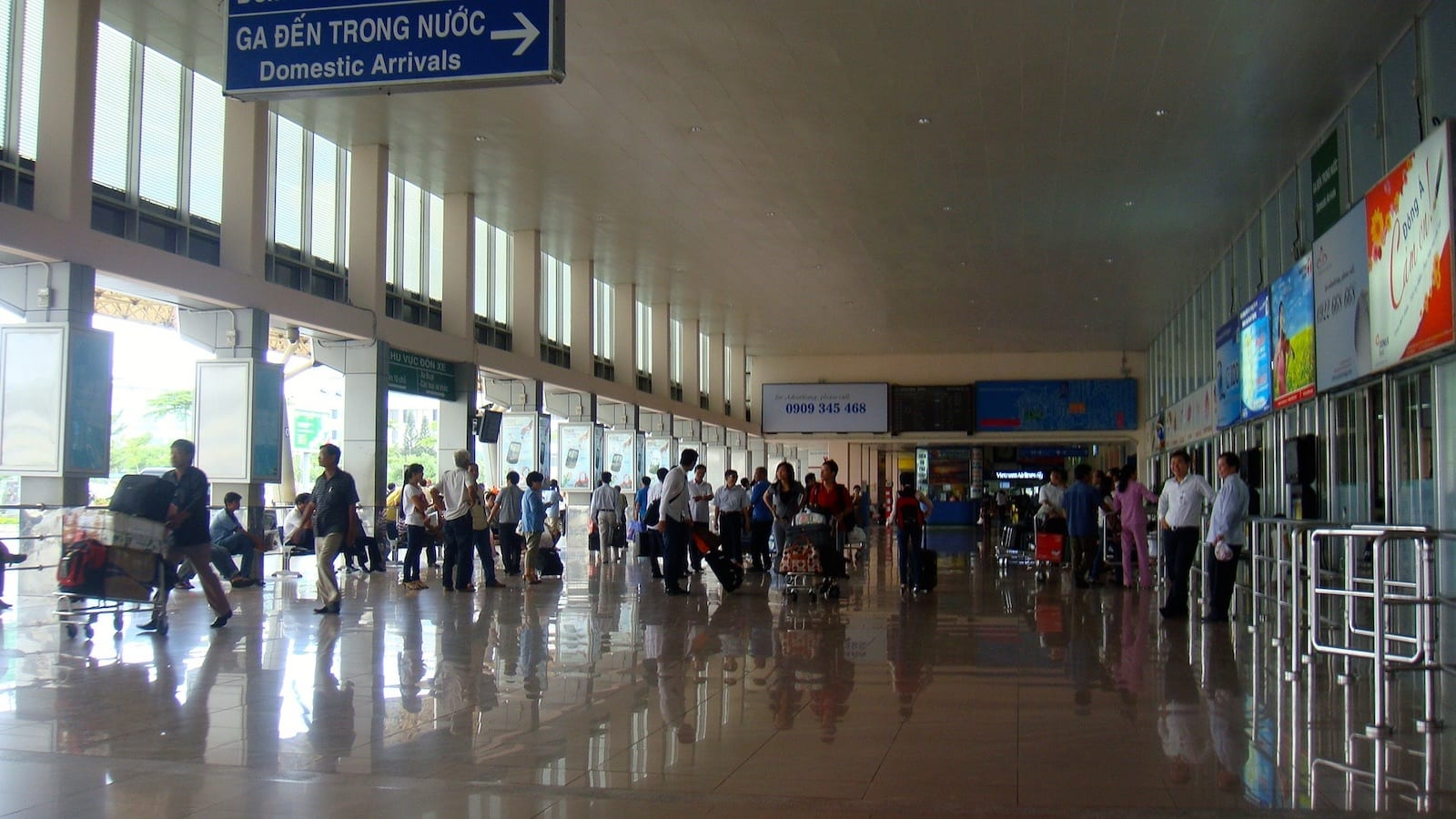Domestic Terminal, Tan Son Nhat Airport, Ho Chi Minh City