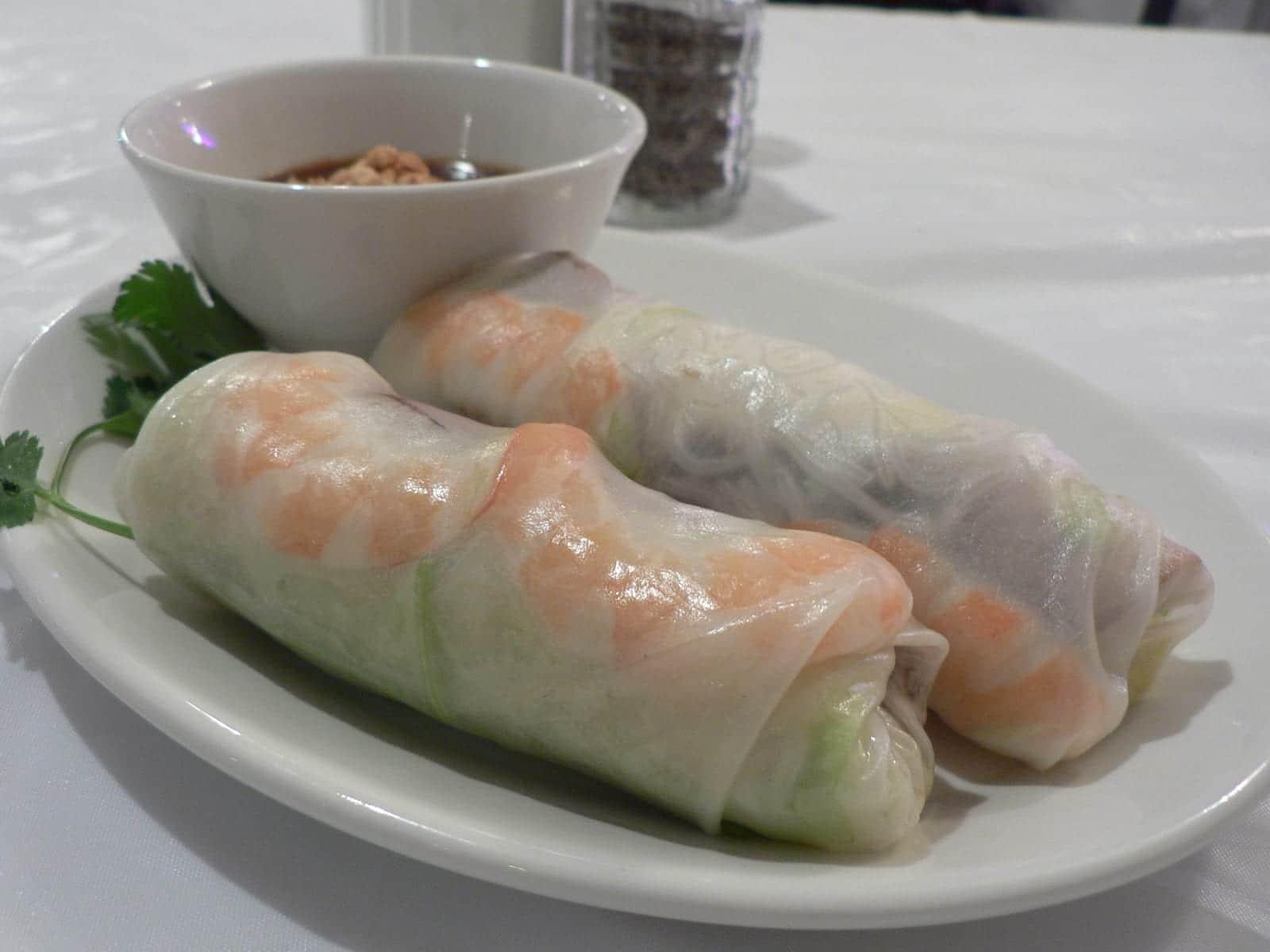 Vietnamese spring roll (Gỏi cuốn), Vn