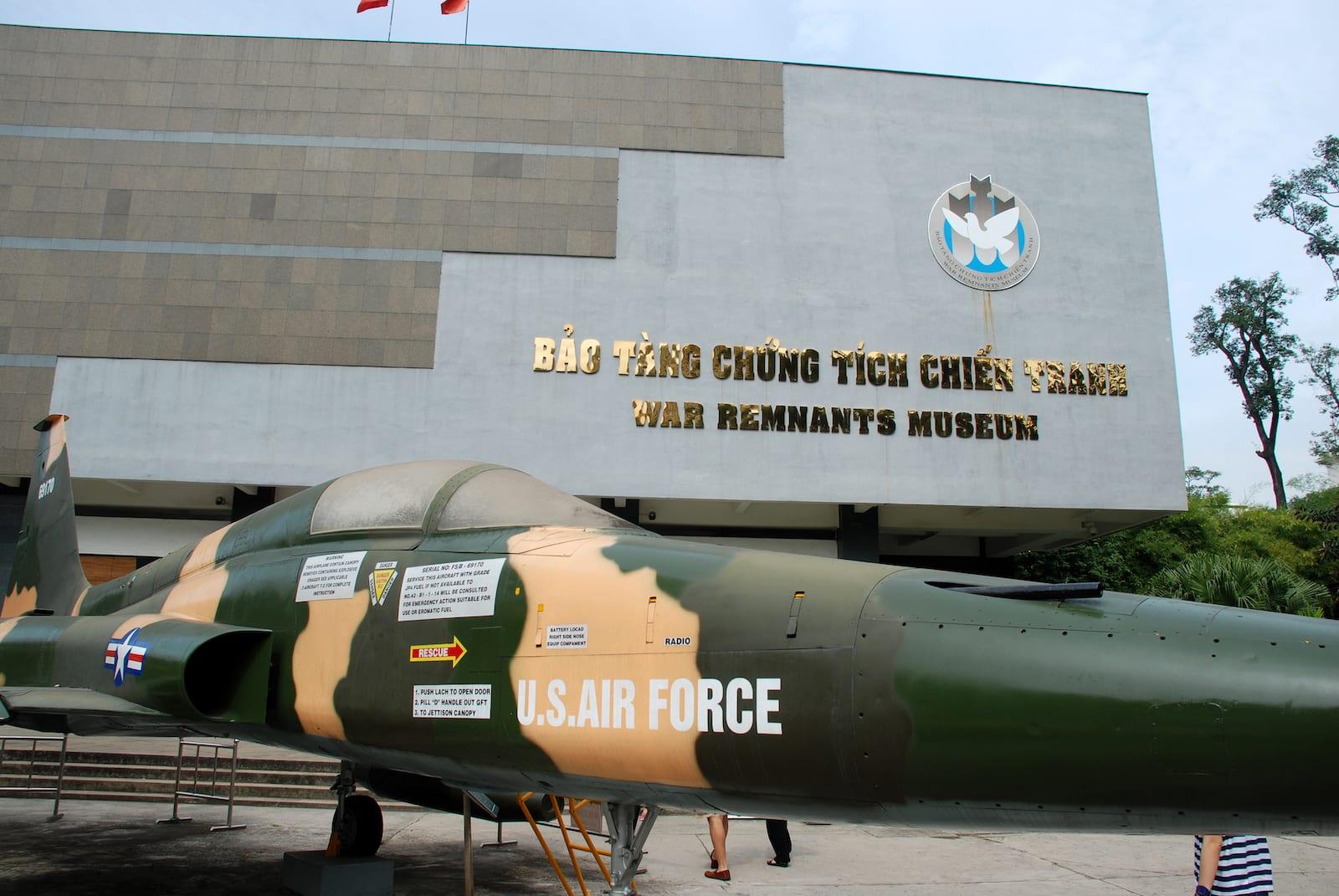 War Remnants Museum in HCMC