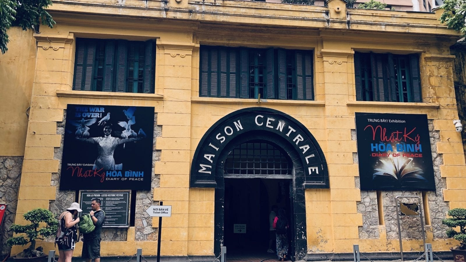 Maison Centrale Hoa Lo Prison Hanoi