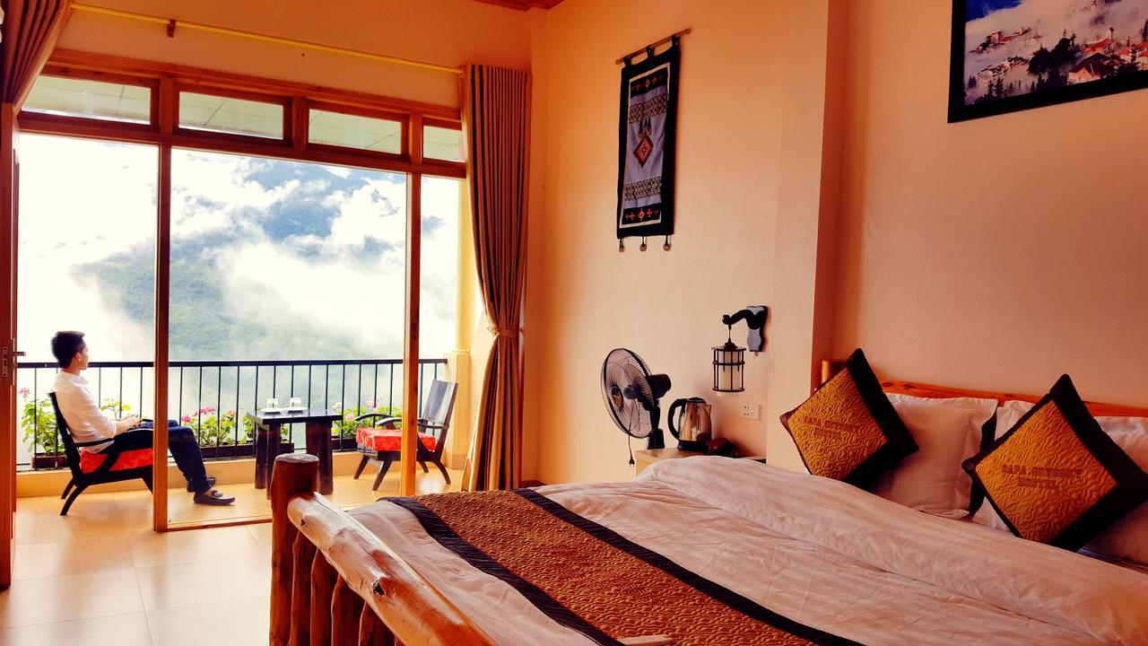 Room view at Sapa Odyssey Hostel, sapa