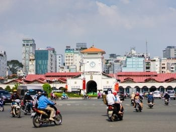 Ben Thanh Market in Ho Chi Minh City