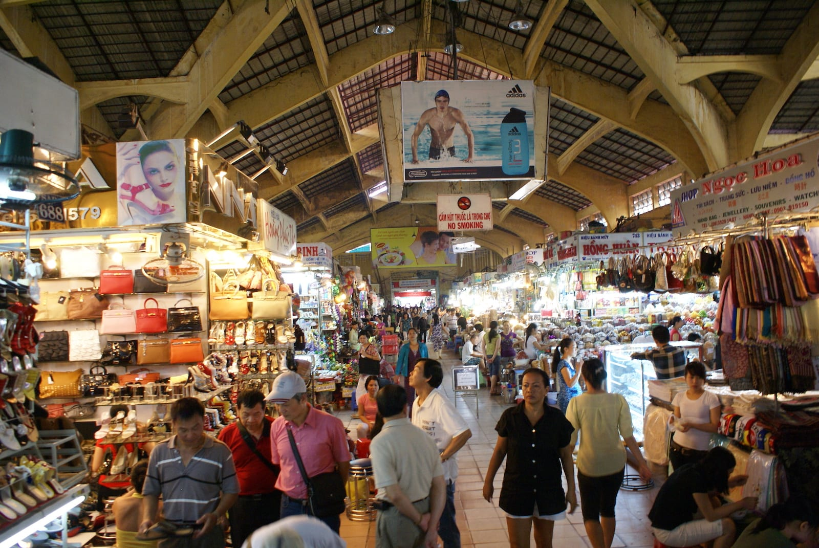 Image of the Ben Thanh Market in Ho Chi Minh City