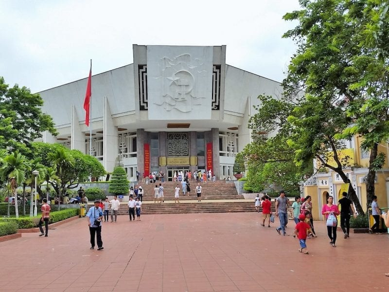 Ho chi minh museum in Ha Noi