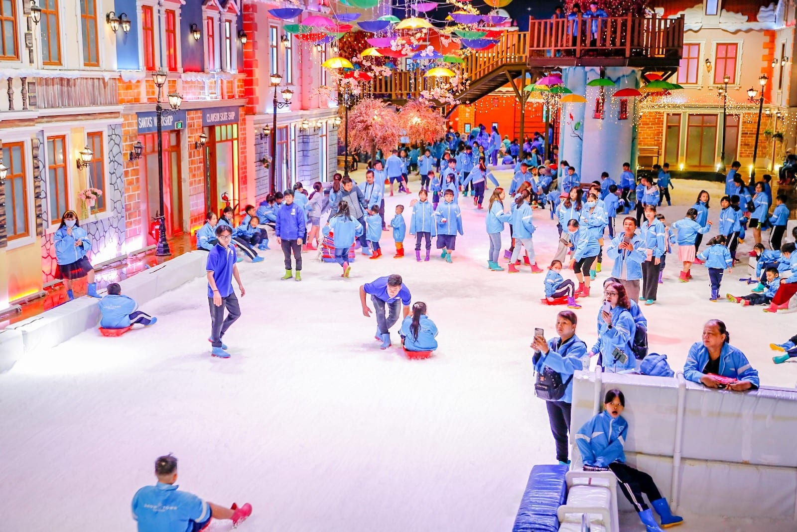 Snow Town in HCMC