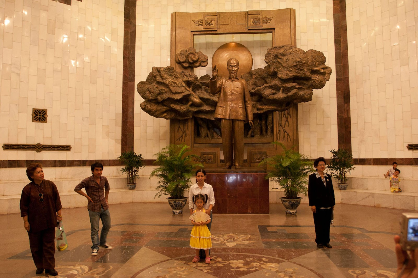 Statue of President Ho Chi Minh