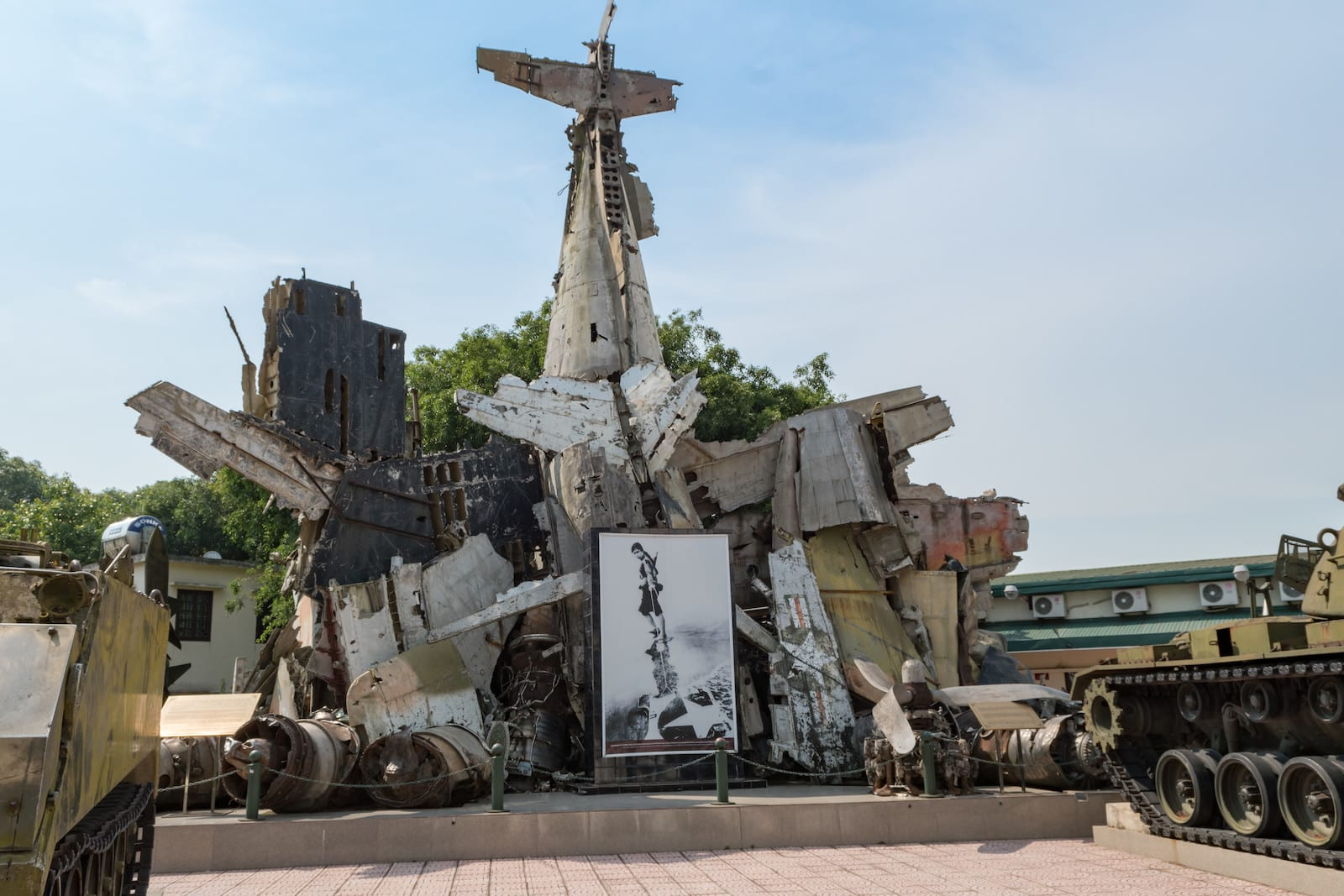 Vietnam Military History Museum in Ha Noi