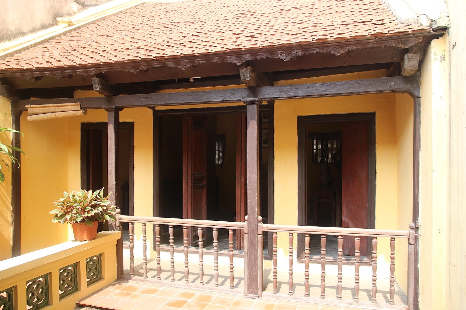 Image of the Ancient House in Hanoi, Vietnam