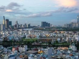 Image of the Ho Chi Ming City skyline