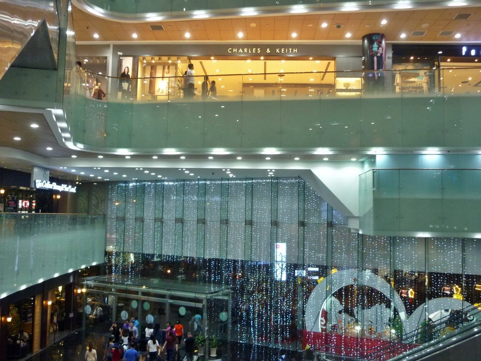 Image of the icon68 shopping center in the bitexco financial tower in vietnam