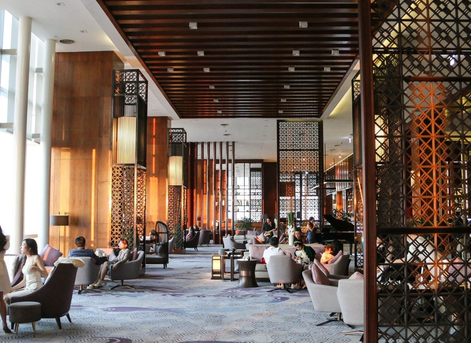 Image of the InterContinental Hotel it Landmark 72 in Hanoi, Vietnam