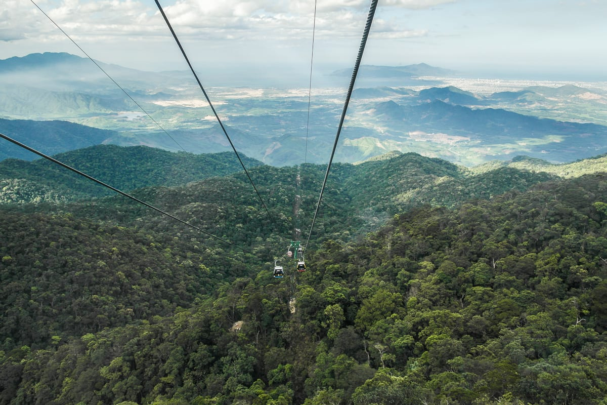Image of the Ba Na Cable Car in Vietnam