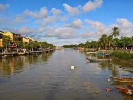 Hoai River, VN