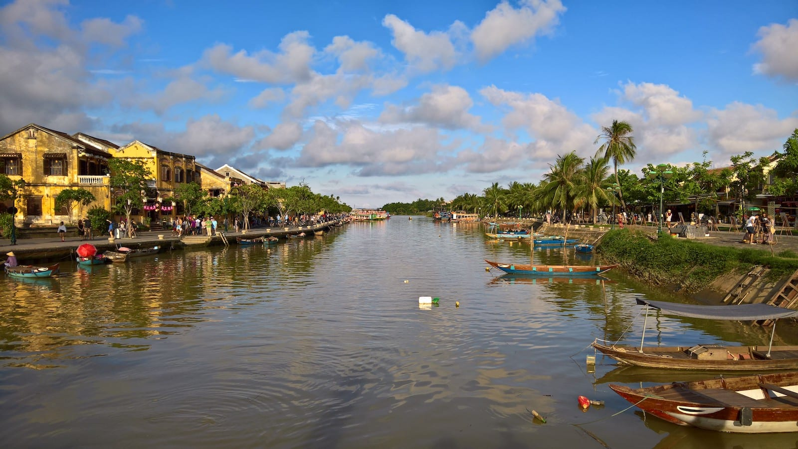 Image of the Hoai River in Vietnam