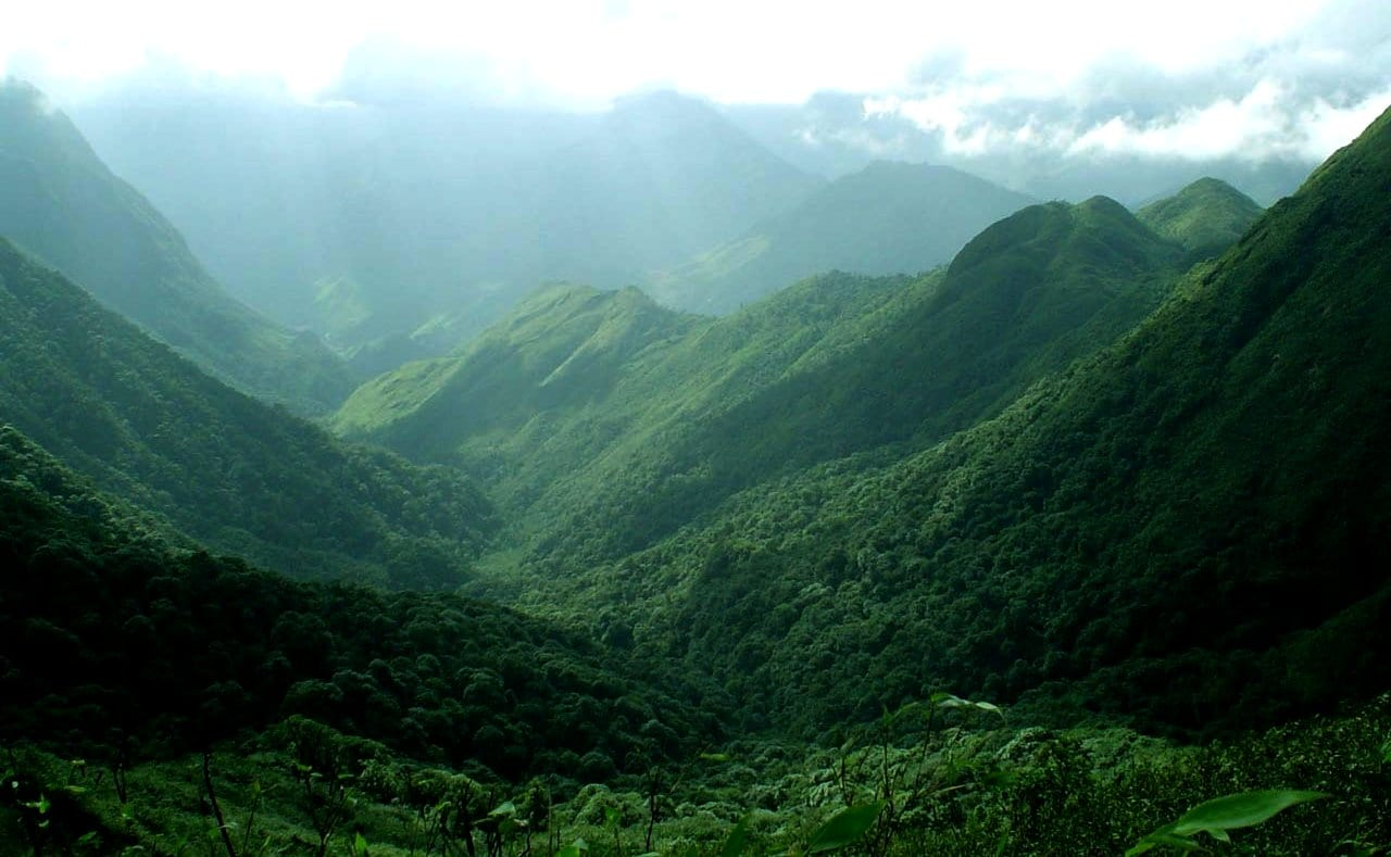 Image of Image of the Hoang Lien Son Mountain Range in Vietnam