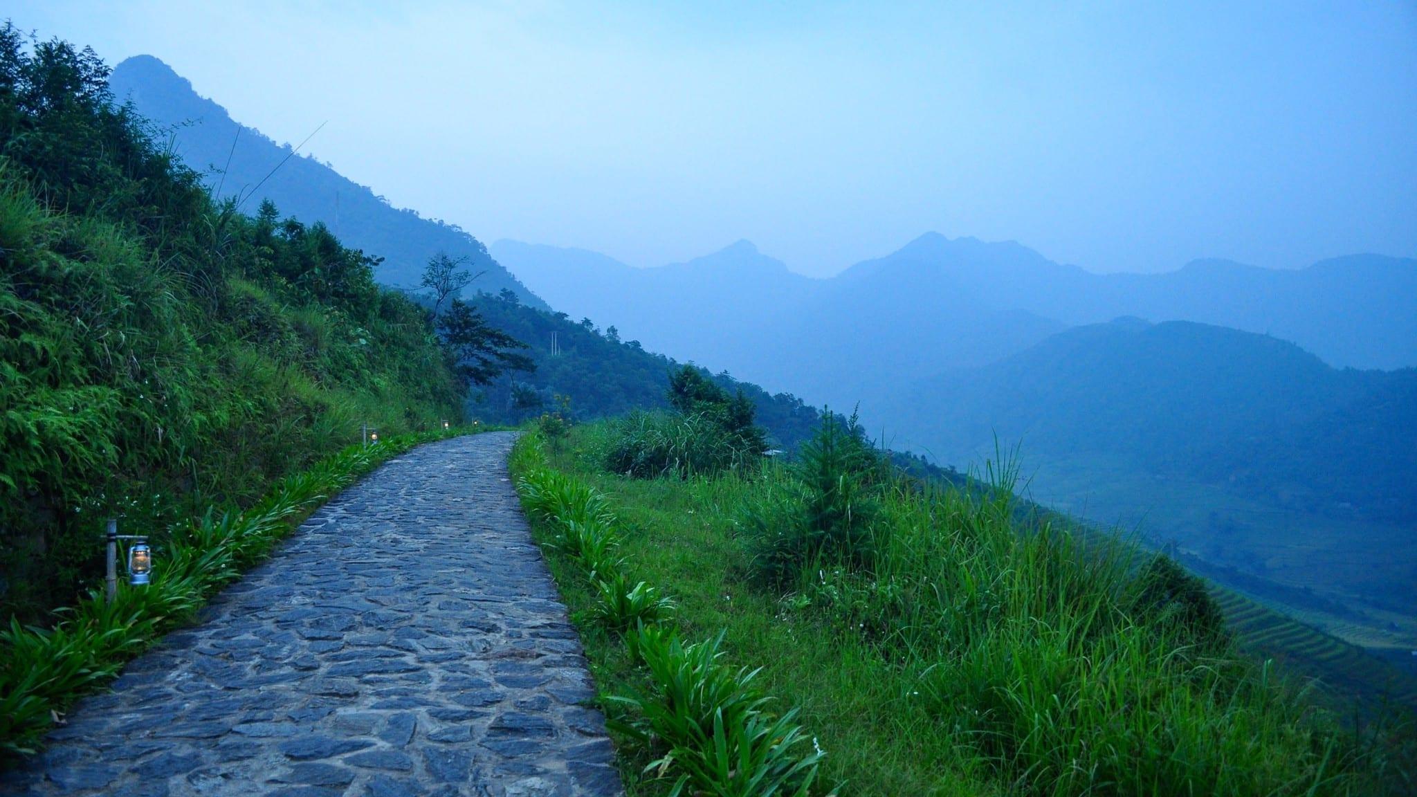 Image of the Lao Cai Province in Vietnam, near Sapa