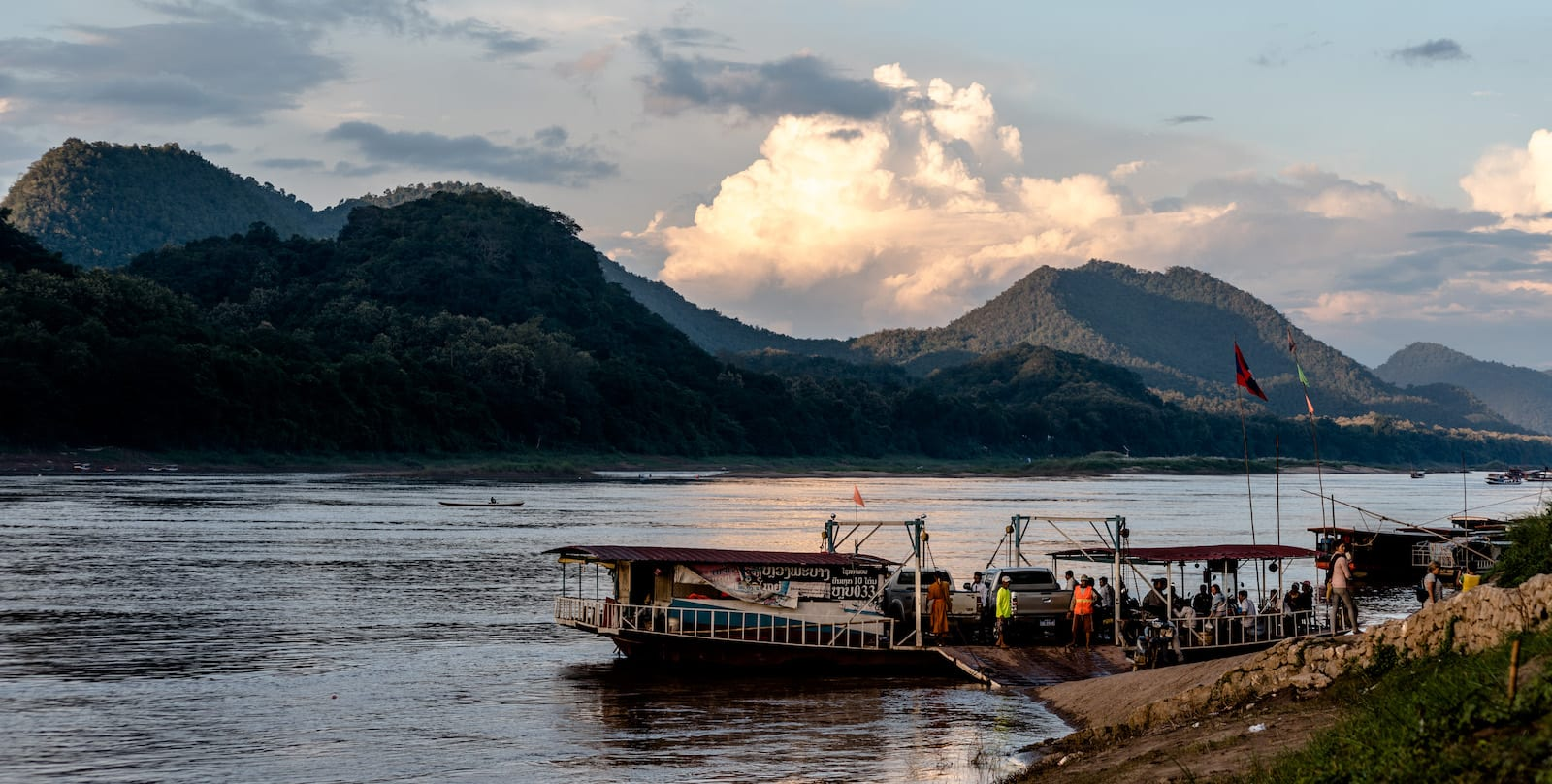 Image of the Mekong River in Vietnam