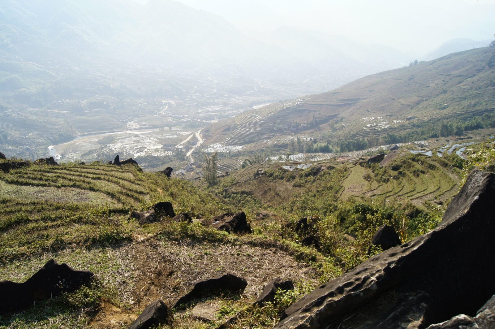 Image of the Muong Hoa Valley in Vietnam, near Sapa