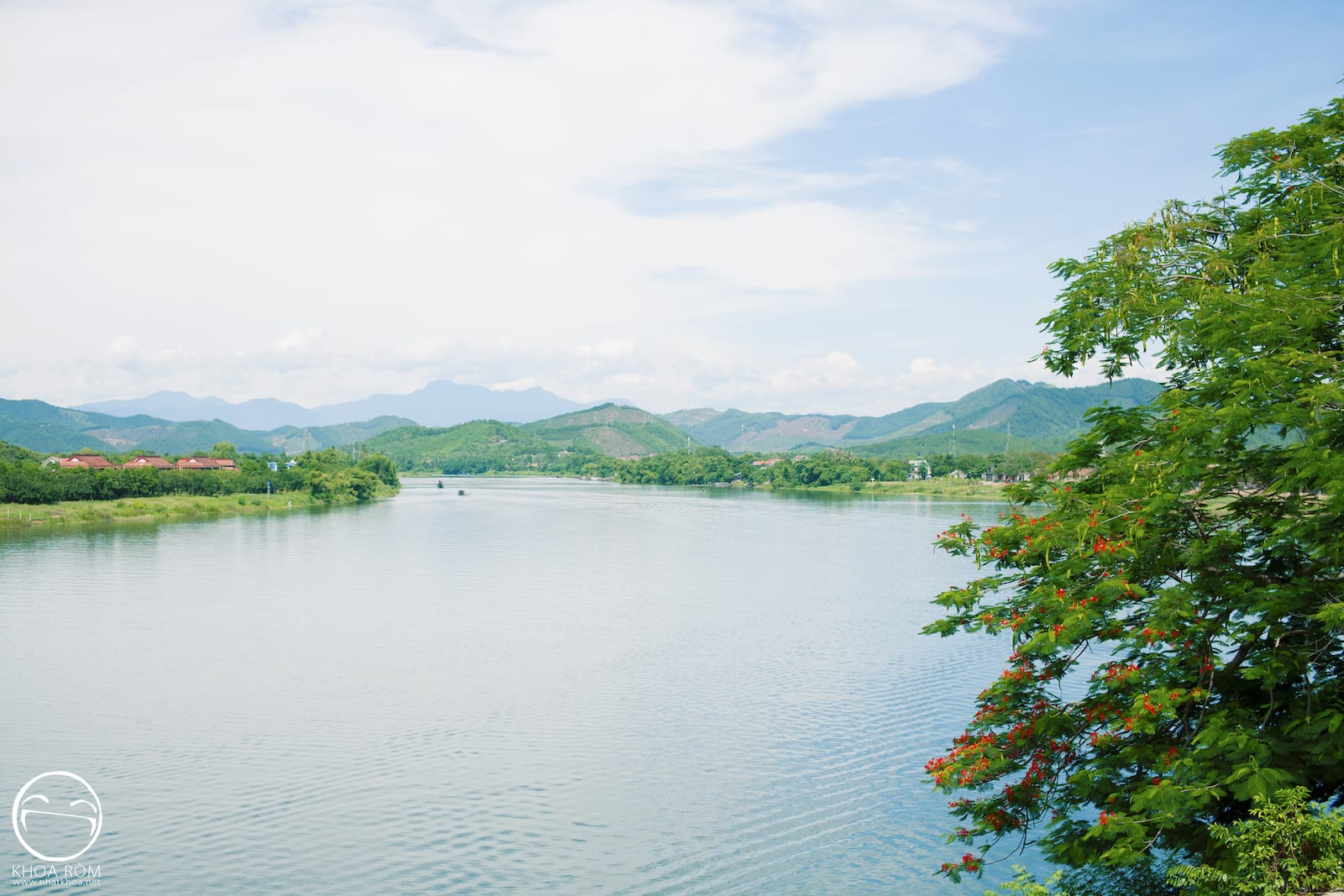 Image of the Perfume River in Vietnam