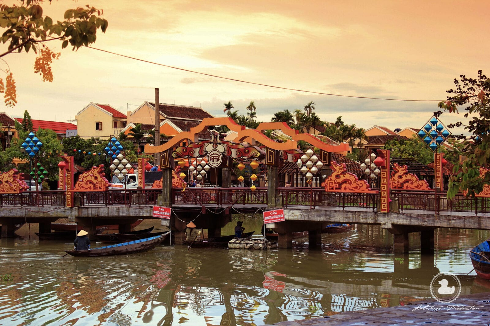 Image of the Bridge of Light's in Hoi An, Vietnam during the day