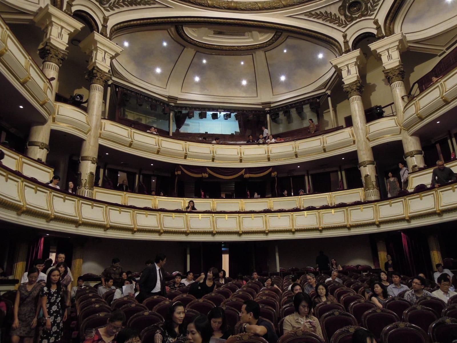 Hanoi Opera House Inside