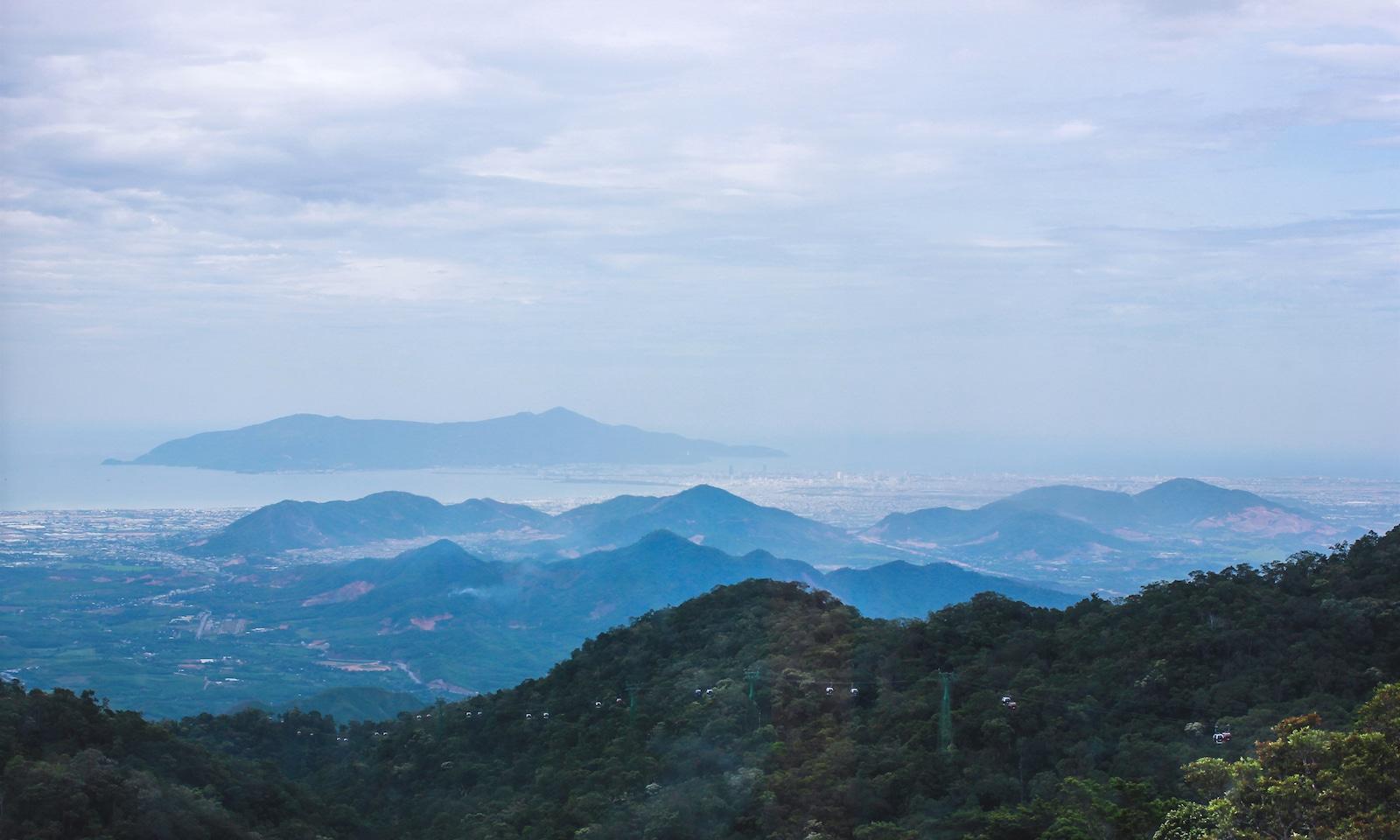 Annamite Range Da Nang, Vietnam