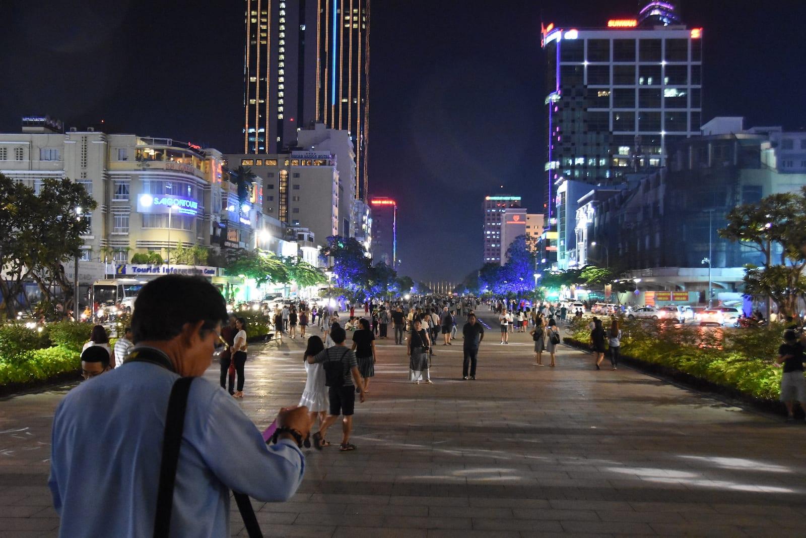 Nguyen Hue walking street