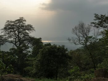 Image of a scenic view from Ba Vi National Park in Vietnam