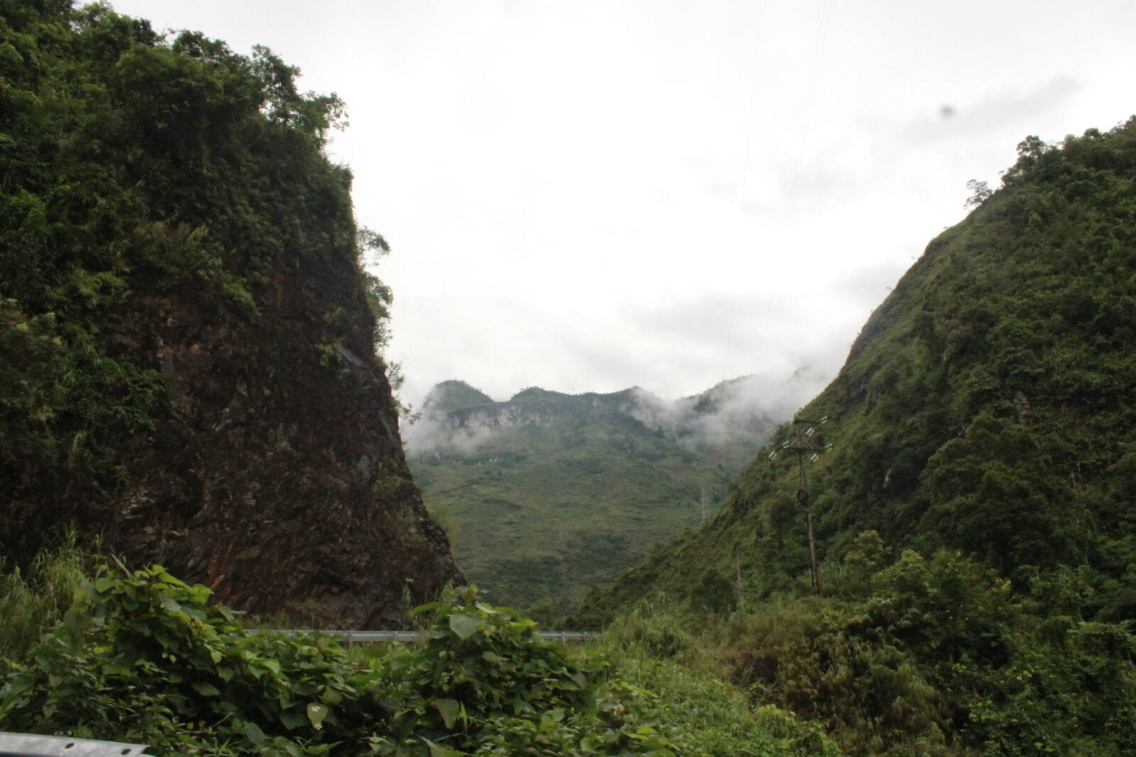 Image from the scenic drive through Ha Giang Province in Vietnam