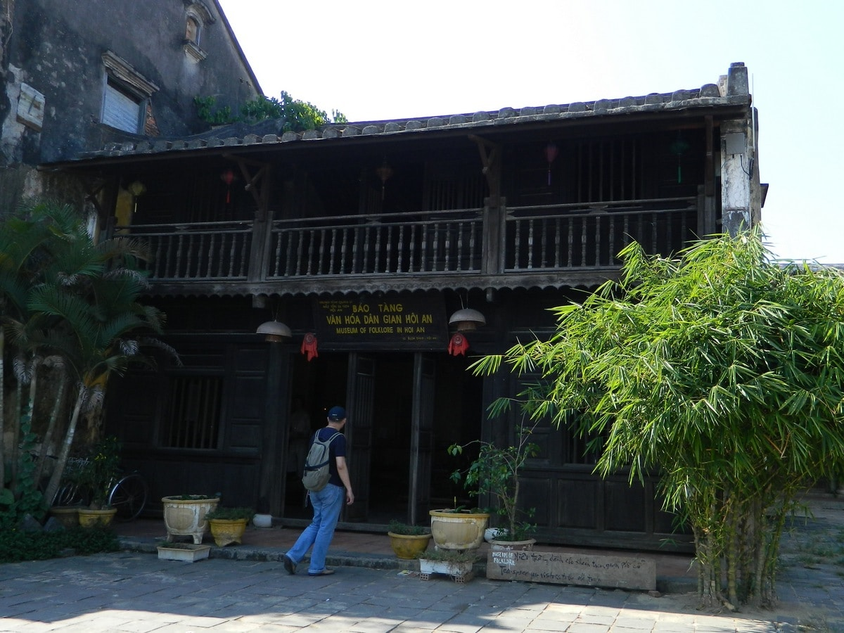 Image of the outside of Hoi An's Museum of Folklore and Culture