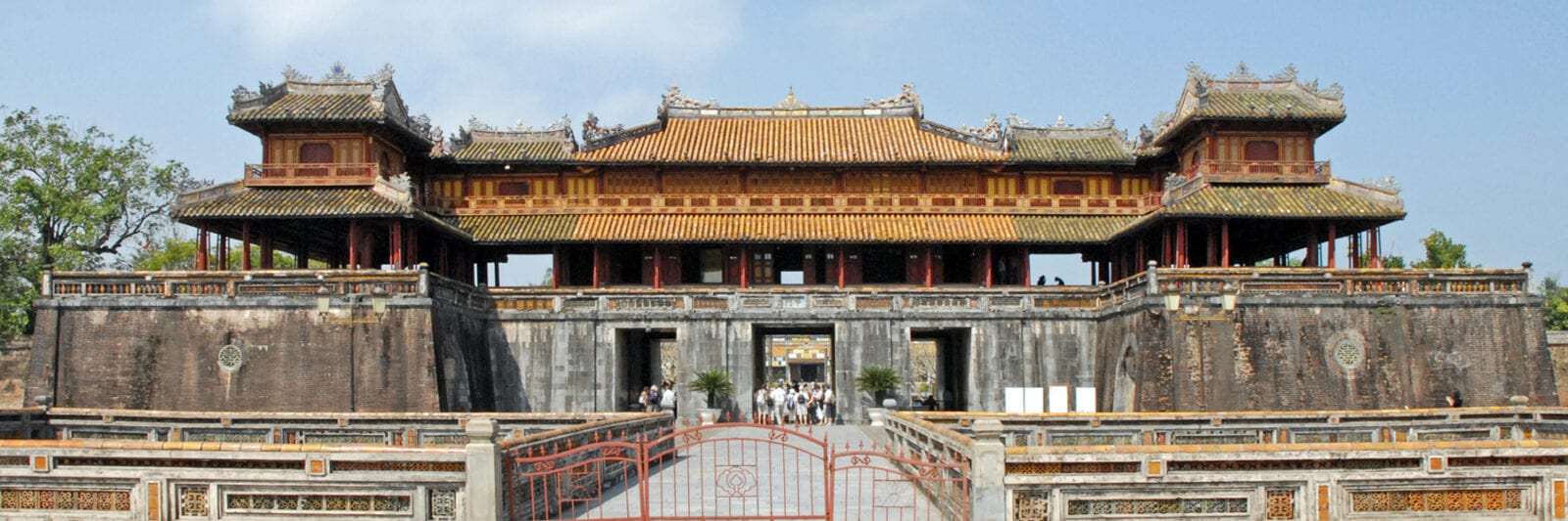 Image of the Imperial City in Hue, Vietnam