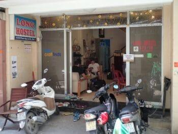 Long Hostel Saigon Vietnam