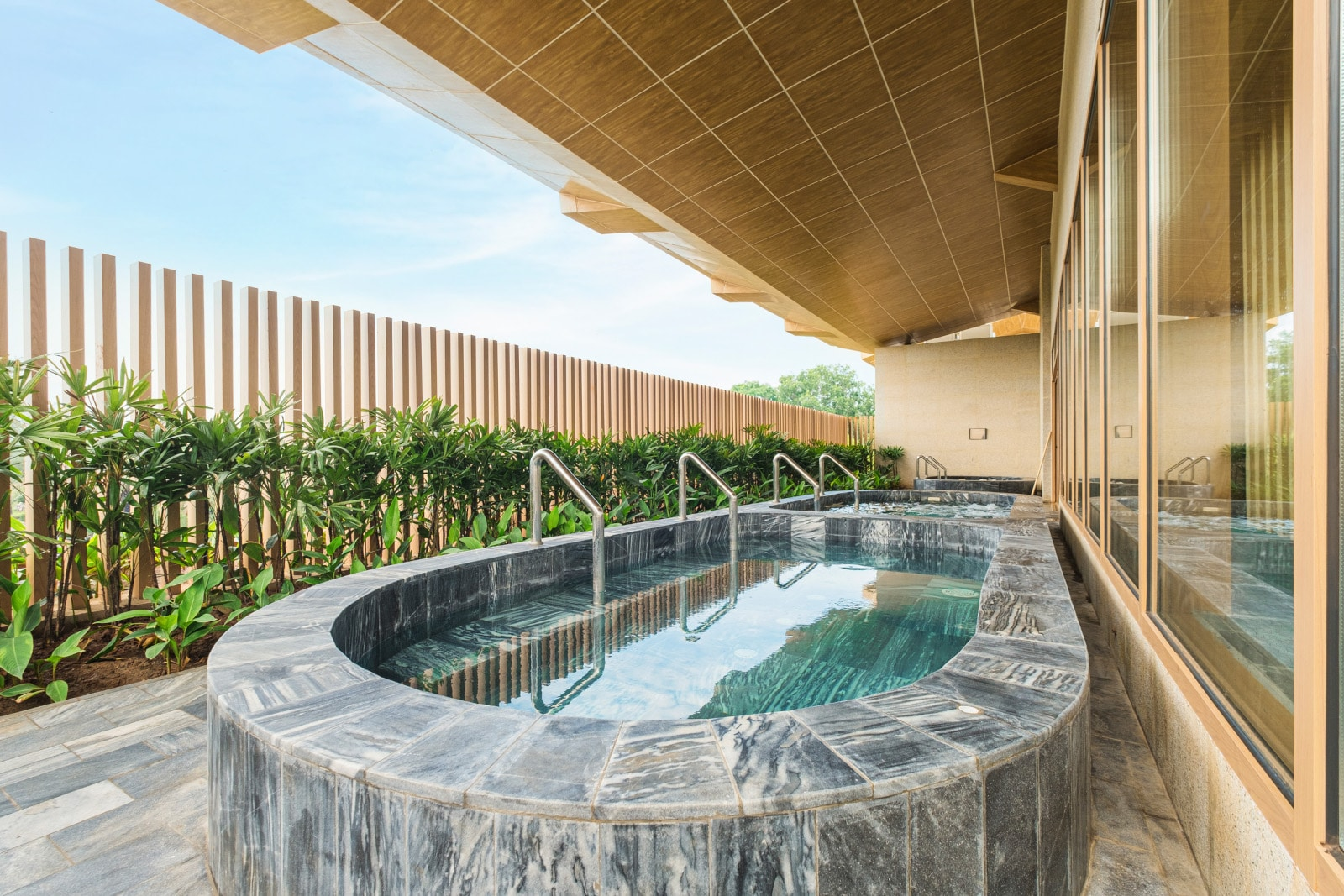 Image of an outdoor onsen at the Minera Hot Spring Binh Chau in Vietnam