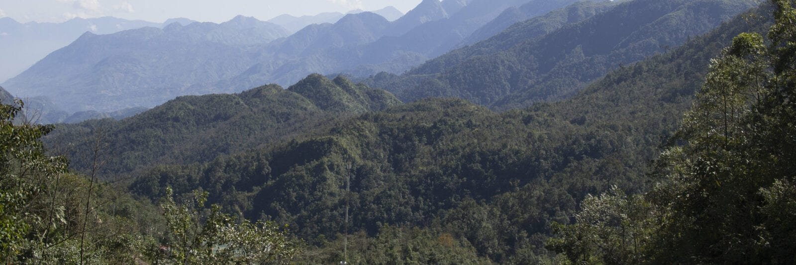 Image of mountains in Vietnam