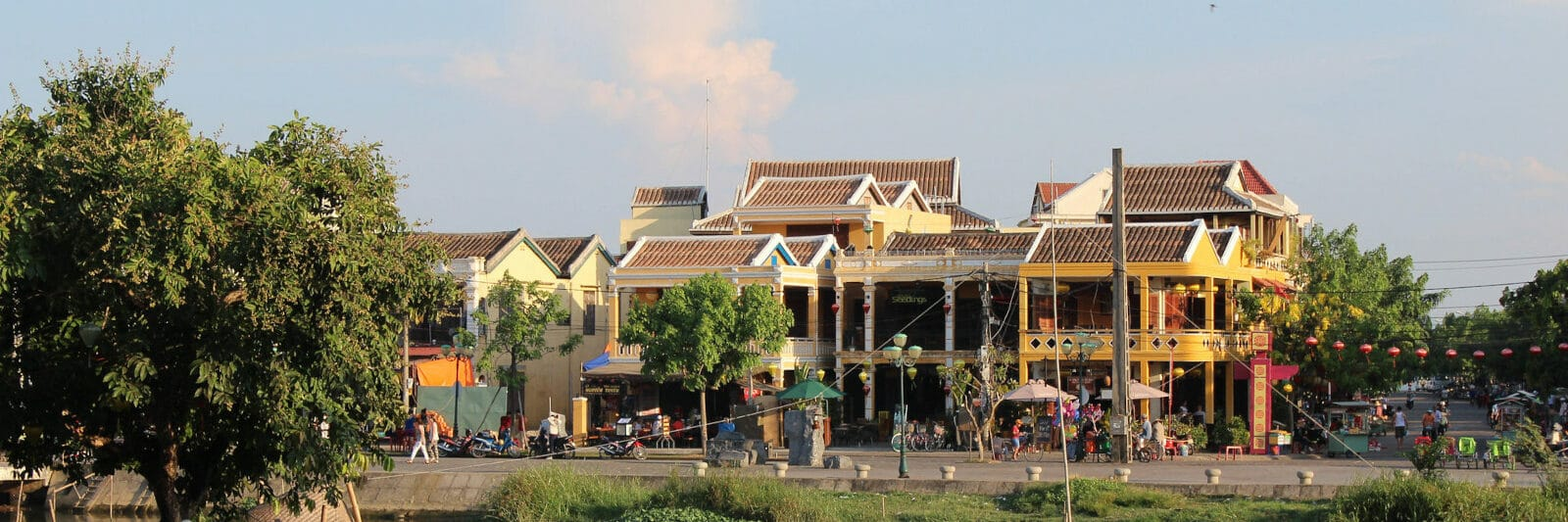 Image of old town hoi an during the day in vietnam