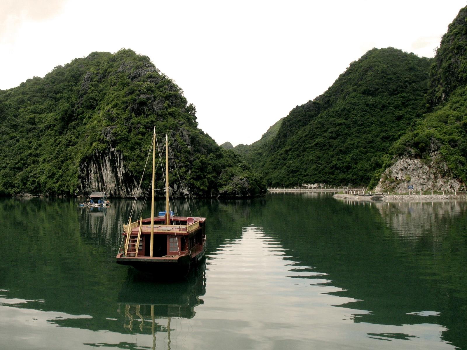 River View of Cat Ba National Park Vietnam