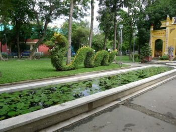 Image of the Tao Dan Park in Vietnam