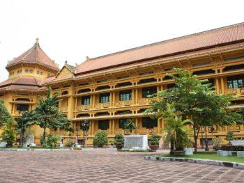 Image of the Vietnam National Museum of History in Hanoi, Vietnam