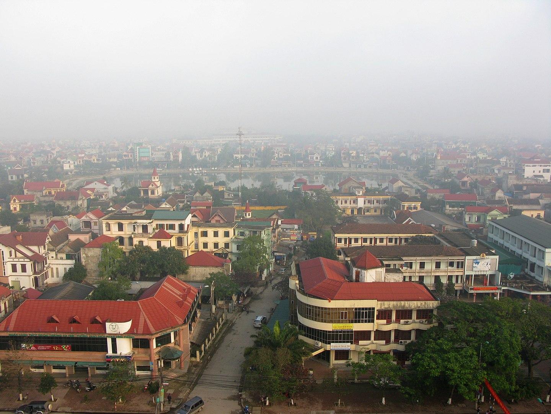 Ha Tinh City Vietnam