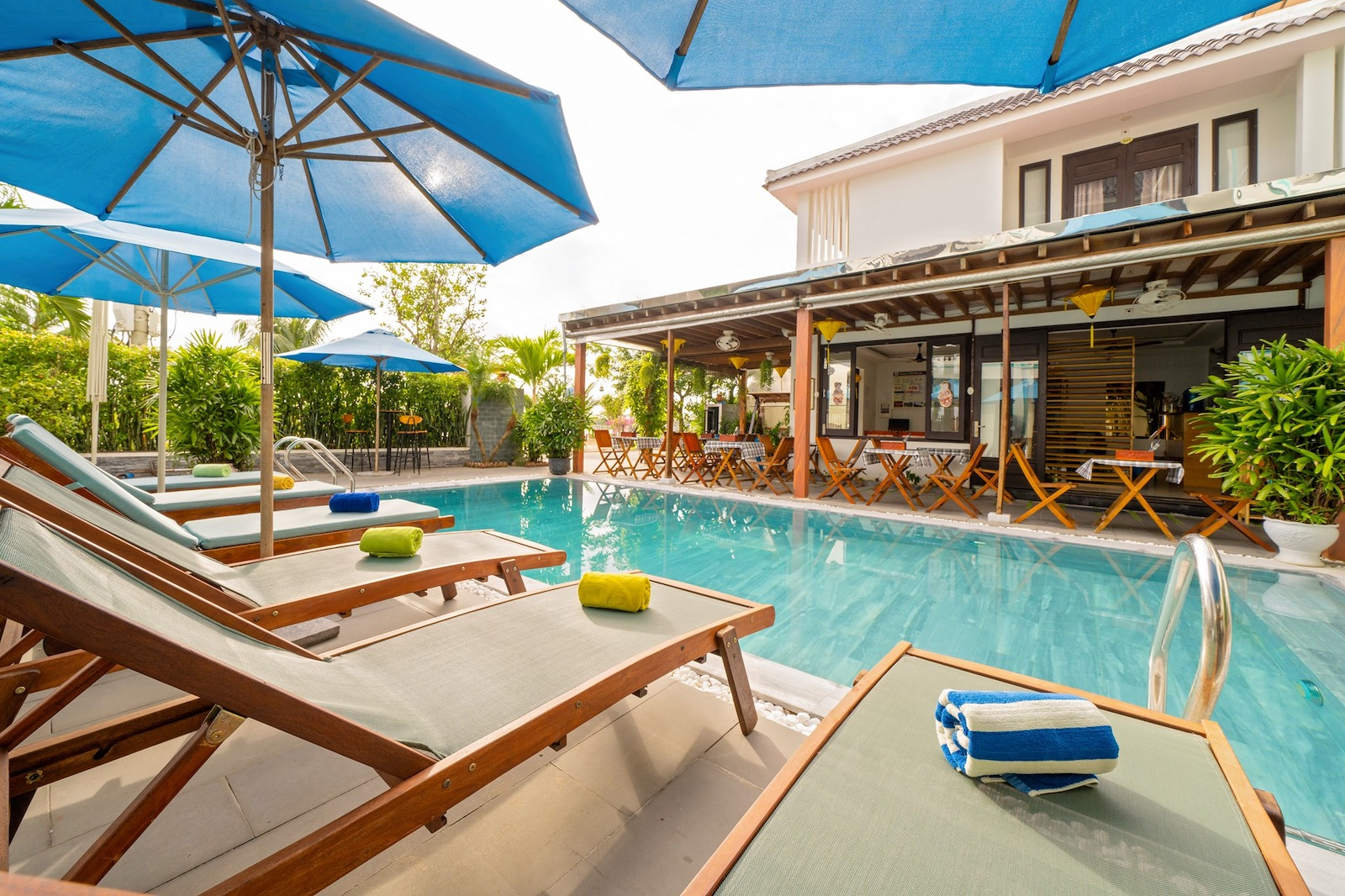 Image of the pool at the Hoi An Estuary Villa in Vietnam