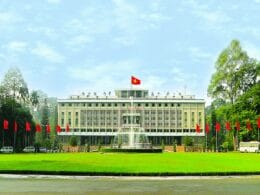 Image of the Independence Palace in Ho Chi Minh City, Vietnam
